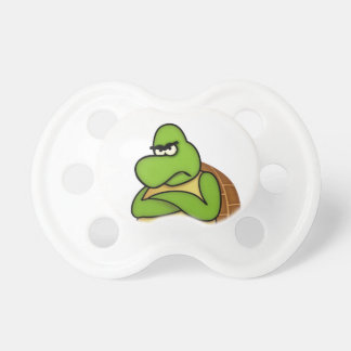 Angry Turtle/Angry Bird Baby Pacifier