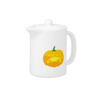 Angry Upset Jack-O-'Lantern