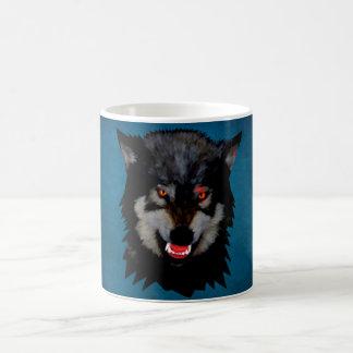 angry wolf coffee mug