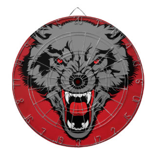 Angry Wolf Dart Boards