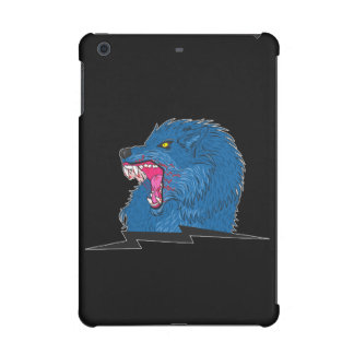 Angry Wolf iPad Mini Covers