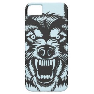Angry wolf iPhone 5 case