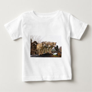 Angry Wolf Pack Baby T-Shirt