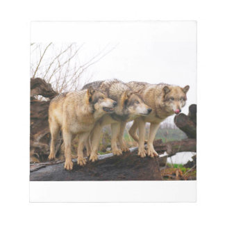 Angry Wolf Pack Notepad