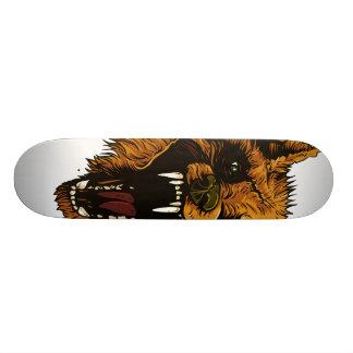 Angry Wolf Skate Custom Skate Board