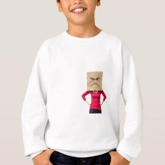 Angry woman sweatshirt