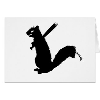Angry Zombie Squirrel Collection Card