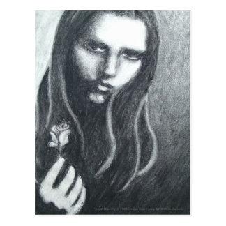 Angst (Drawing) Postcard