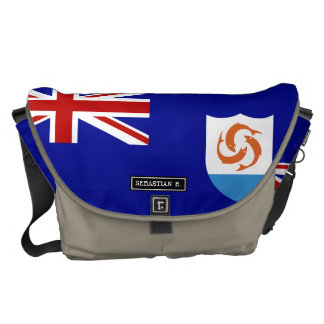 Anguila Flag Courier Bags