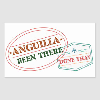 Anguilla Been There Done That Sticker
