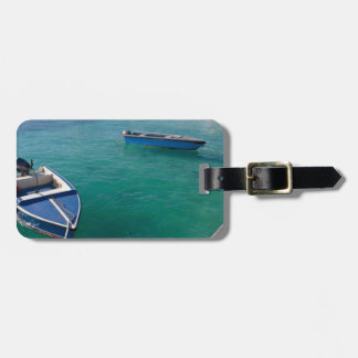 Anguilla Boats Luggage Tag