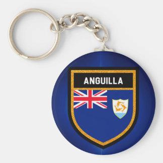 Anguilla Flag Keychain