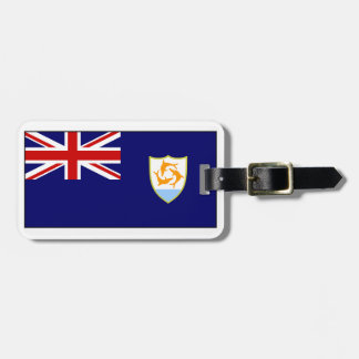 Anguilla Flag Luggage Tag