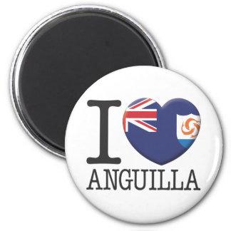 Anguilla Fridge Magnet
