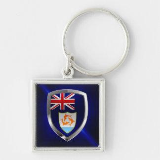 Anguilla Mettalic Emblem Keychain