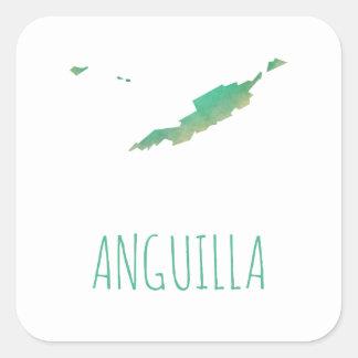Anguilla Square Sticker