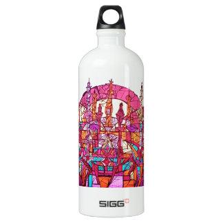 Anguilu Art Water Bottle