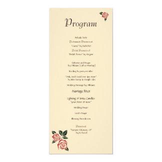 Angular Roses Card