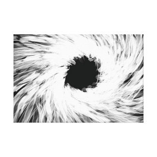 Angular Vortex - Canvas Print