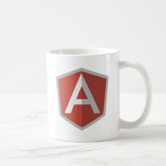 AngularJS Shield Logo Coffee Mug
