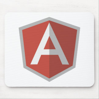 AngularJS Shield Logo Mouse Pad