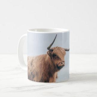 """""""Angus"""" Highland Cow Mug"""