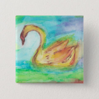 Angus Og 2 Inch Square Button