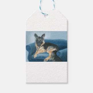 Angus the German Shepherd Gift Tags