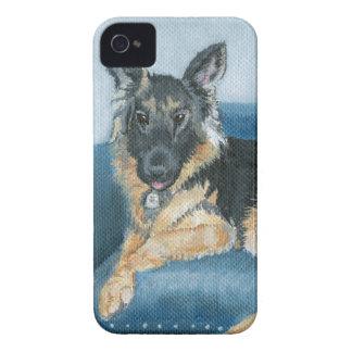 Angus the German Shepherd iPhone 4 Cover