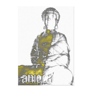 Anicca - the continually changing impermanence canvas print