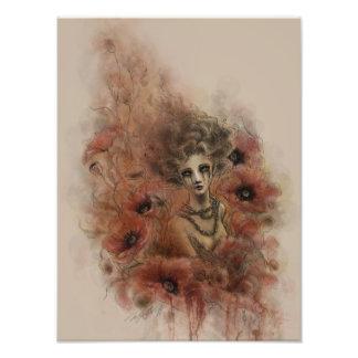 Anima Sola Dark Fantasy Art Print