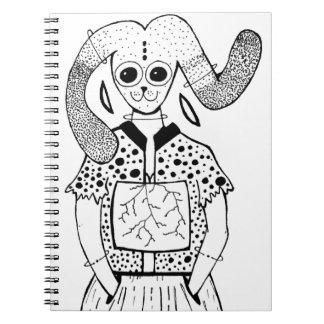 Animagic Spiral Notebook