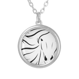 animal-1300243 silver plated necklace