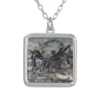 animal-3411 silver plated necklace