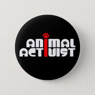 Animal Activist 2 Inch Round Button