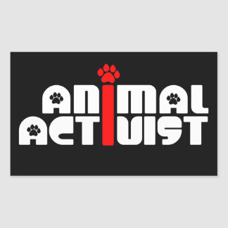 Animal Activist Sticker