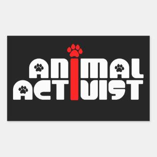 Animal Activist Sticker
