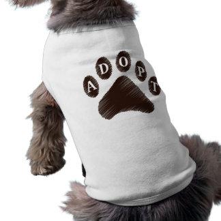 Animal Adoption Doggie Tee Shirt