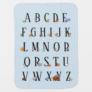 Animal Alphabet Blanket