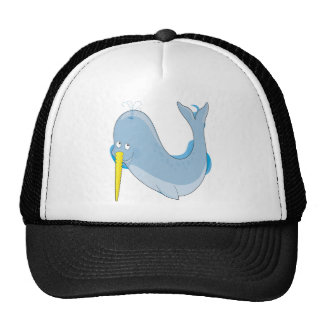 Animal Alphabet Narwhal Trucker Hat