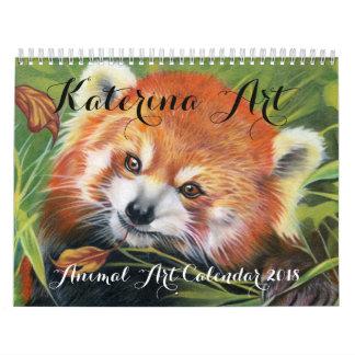 Animal Art Calendar 2018 Katerina Art