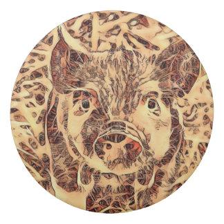 Animal ArtsStudio- amazing piglet Eraser