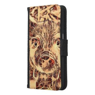 Animal ArtsStudio- amazing piglet Samsung Galaxy S6 Wallet Case