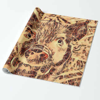 Animal ArtsStudio- amazing piglet Wrapping Paper