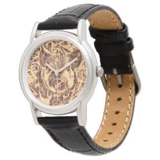 Animal ArtsStudio- amazing piglet Wristwatch