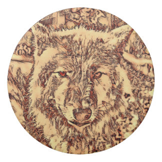 Animal ArtsStudio- amazing wolf Eraser