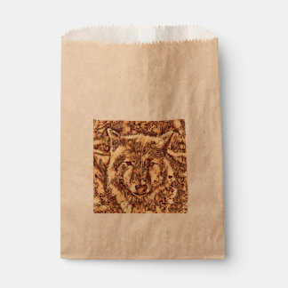 Animal ArtsStudio- amazing wolf Favour Bag