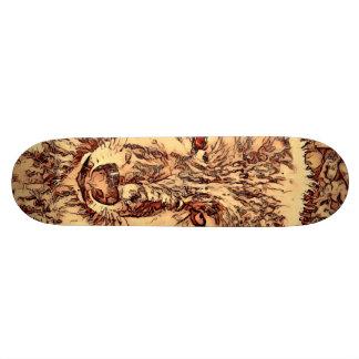 Animal ArtsStudio- amazing wolf Skateboard Decks