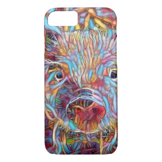 Animal ArtStudio- funky piglet iPhone 8/7 Case