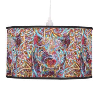 Animal ArtStudio- funky piglet Pendant Lamp